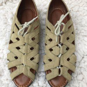 Beautifeel  Light Green Nubuk Sandals 42 (11.5-12)